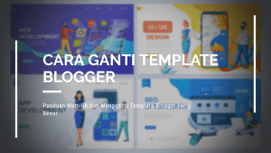 Cara ganti template blog
